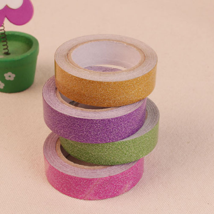 Paste style handmade diy album album album creative tools and materials produced flash powder tape