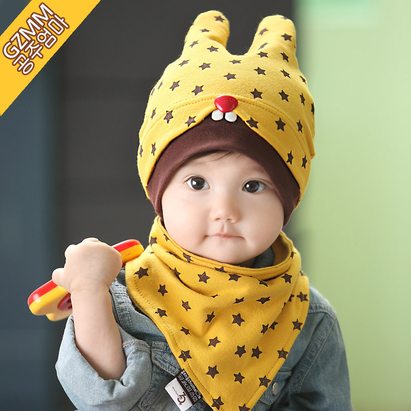 0--3--6--12 months of spring and autumn baby hat baby hat hedging spring hat newborn baby tire cap baby hat for men and women