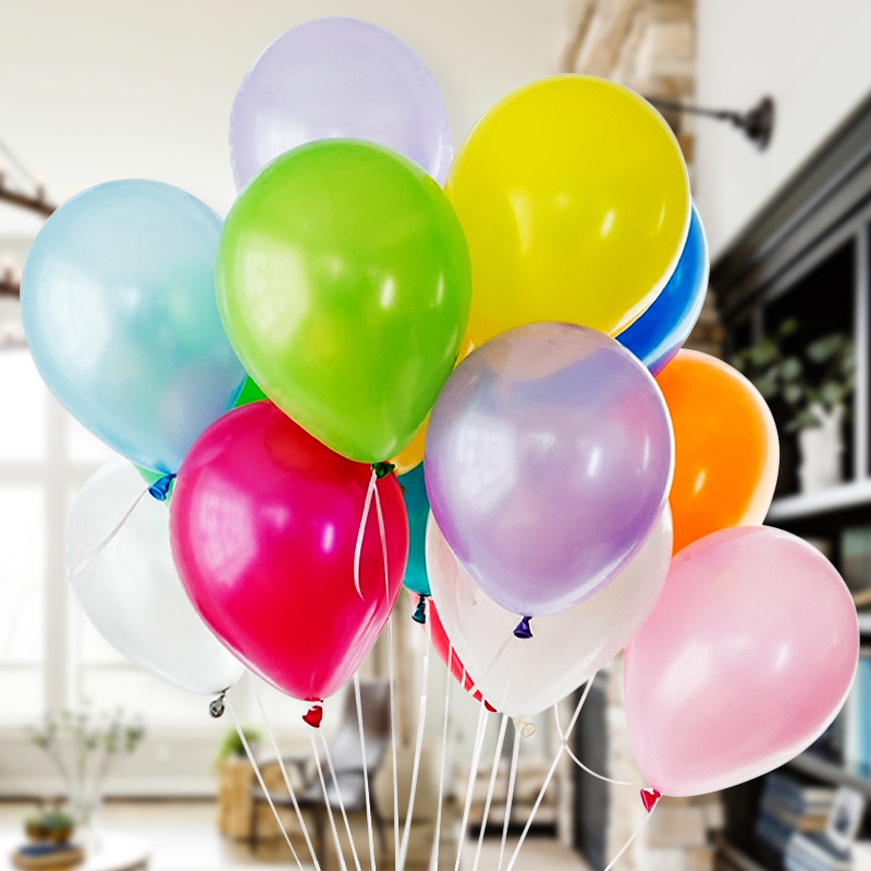10 opened marry 12-inch thick matte balloon wedding arranged marriage room decoration wedding birthday party supplies for children