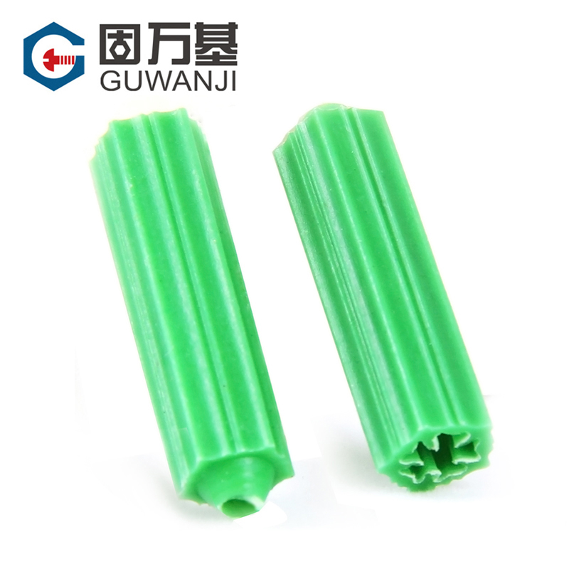 [100] nylon nylon expansion pipe expansion bolt expansion within the expansion screw plastic stopper rubber stopper wall plug plugs m6m8