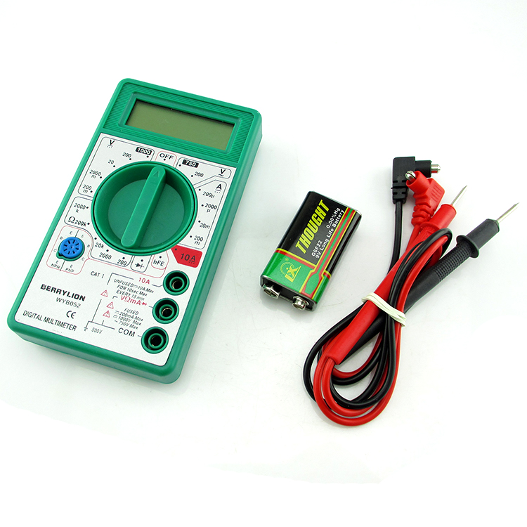Berry lion/budweiser lion digital multimeter lcd multimeter electronic maintenance tools