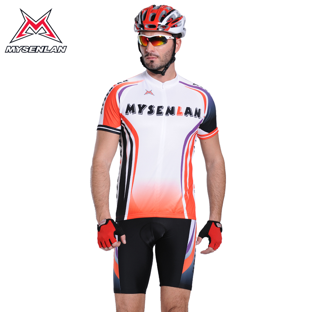 Mai senlan fantastically short sleeve cycling jersey bicycle clothing suit jersey short sleeve suit male