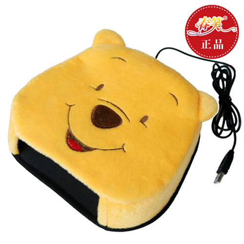 Spring laugh genuine usb hand warmer mouse pad/warm heating pad heating usb hand warmer mouse cartoon