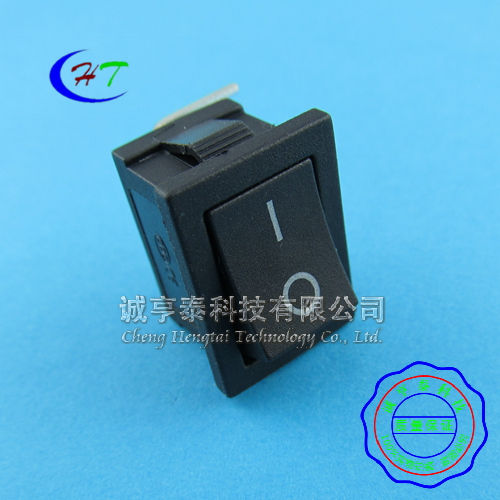 Kcd1 3 feet 2 files curved legs 21*15mm black rocker switch rocker switch 6a/250 10 v only