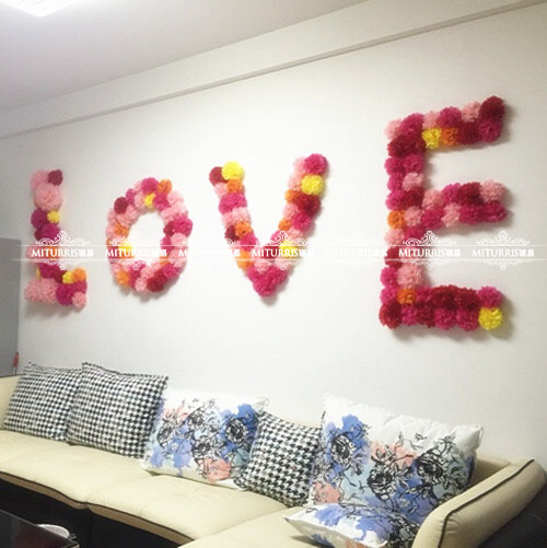 10cm paper flower ball wedding room decoration paper garlands wedding birthday party balloon wedding supplies wedding marriage room layout