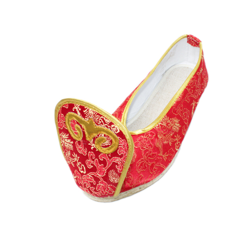 Xifeng court han chinese clothing chinese wedding costume shoes shoes slope with embroidered shoes eagerly fulfill women shoes canvas shoes casual shoes
