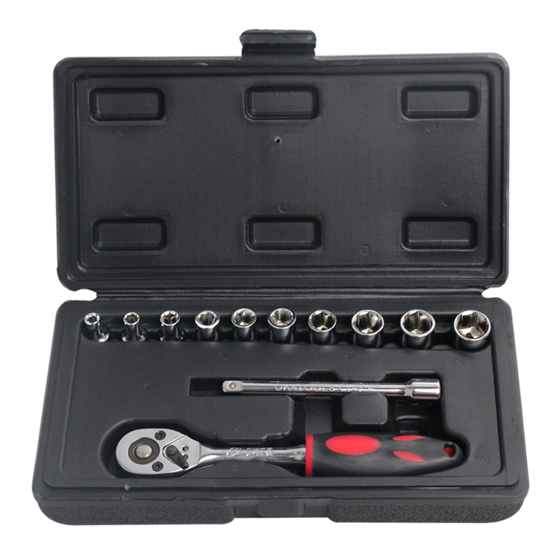 Kraft will 12mm series 3mm sleeve tool combination package fast boats wrench metal toolbox