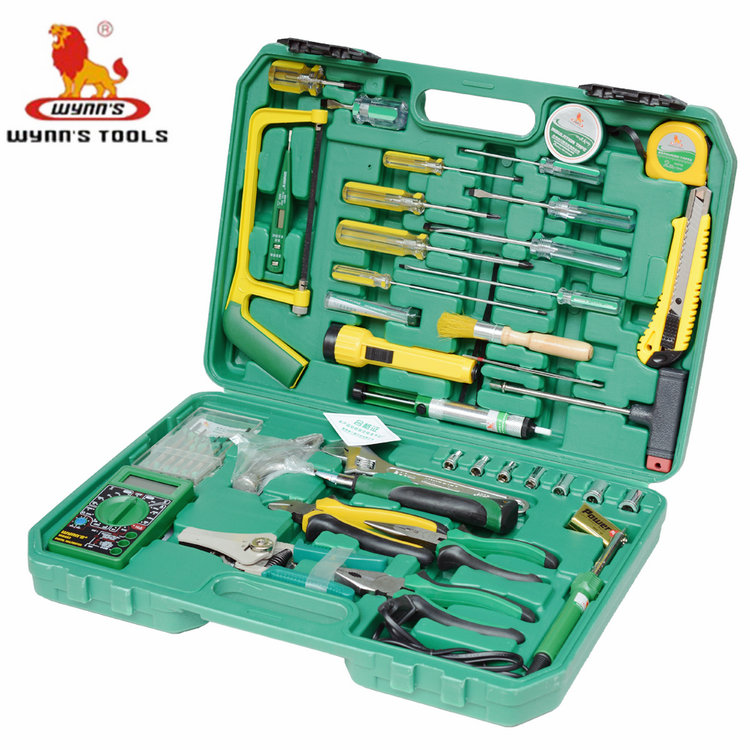 Power of the lion 42 42PC 0953553件telecommunications tool set electrician tool kit telecommunications combination tool w042