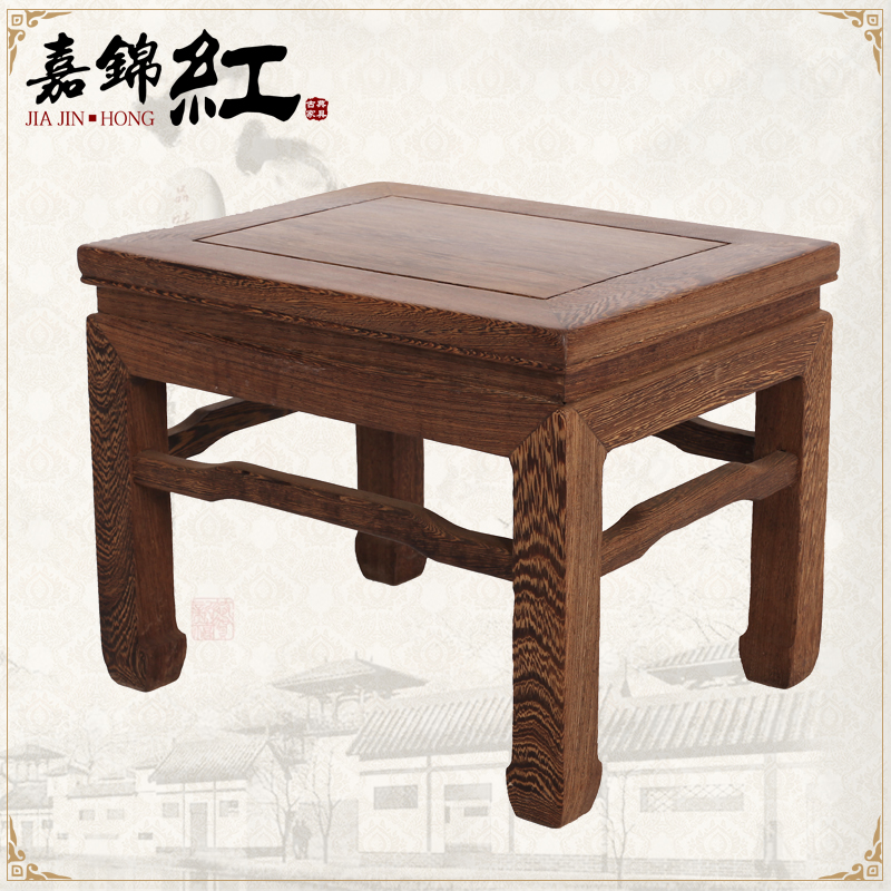 Classical mahogany furniture wood furniture small low stool stool stool small children fangdeng classical chinese furniture wenge wood furniture