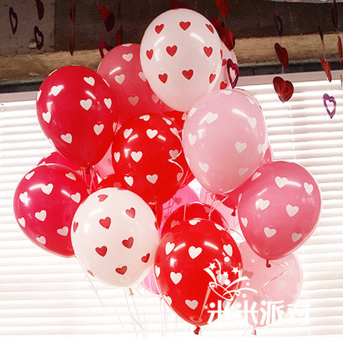 12 cunxin shaped balloon printing balloon wedding room layout creative wedding supplies wedding celebration balloon wedding balloon balloon decoration