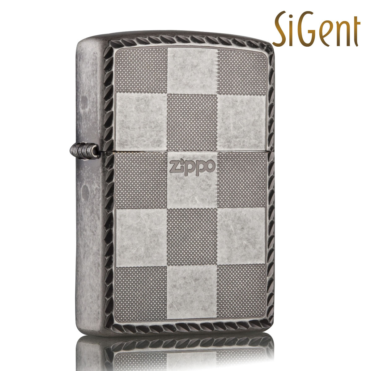 Creative windproof lighters zippo genuine authentic zippo lighters zippo genuine korean version of plaid