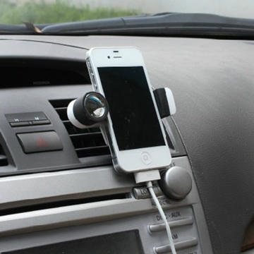 Black SD-1108G air conditioning vent phone holder phone holder cell phone clip retractable phone holder cell phone holder
