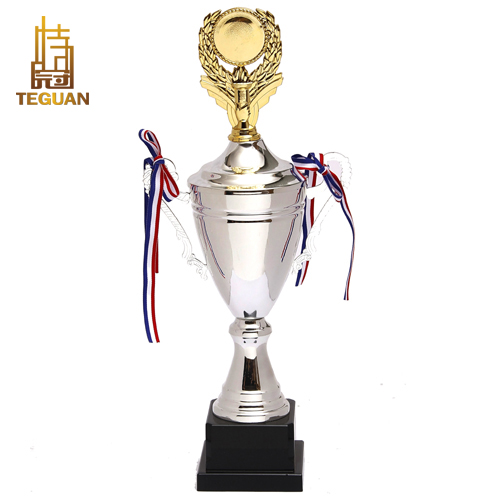 Silver trophy! generic trophy custom metal trophy basketball trophy free to do word games cup 3053C