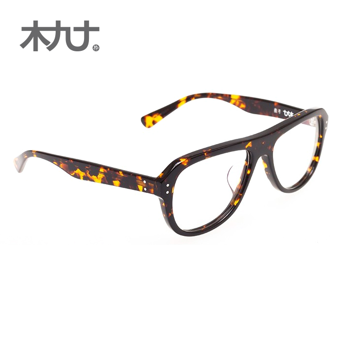 Wood ninety counter genuine 22056b tortoiseshell glasses yurt influx of men and women temperament was thin in europe and america framework
