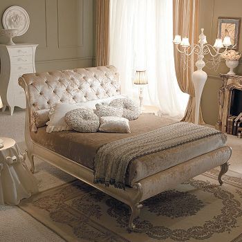 Zuoshi neoclassical home beds bedroom single bed fabric beds y12132