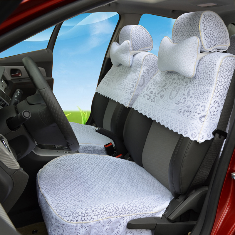Upscale upscale lace seat covers half sleeve k3 k5 civic accord fit front range luxgen seat cover custom