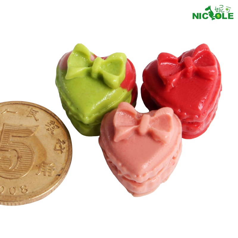 Nicole silicone mold heart shaped bow chocolate mold chocolate mold chocolate mold sugar arts mold