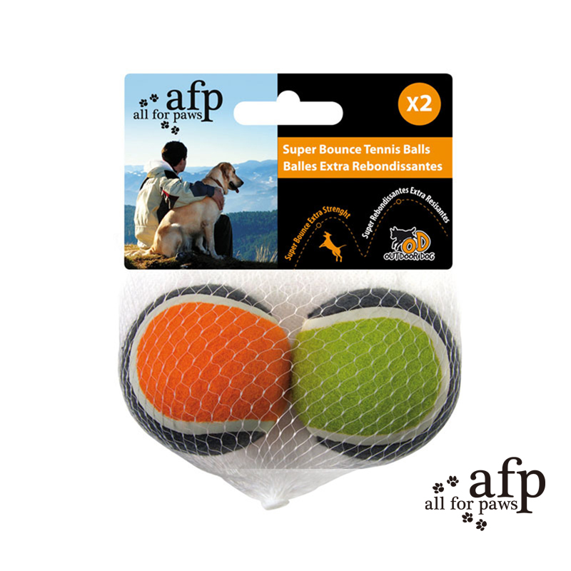Afp dog toys pet supplies dog bite resistant super stretch tennis ball stuffed ball bouncing ball to play outside