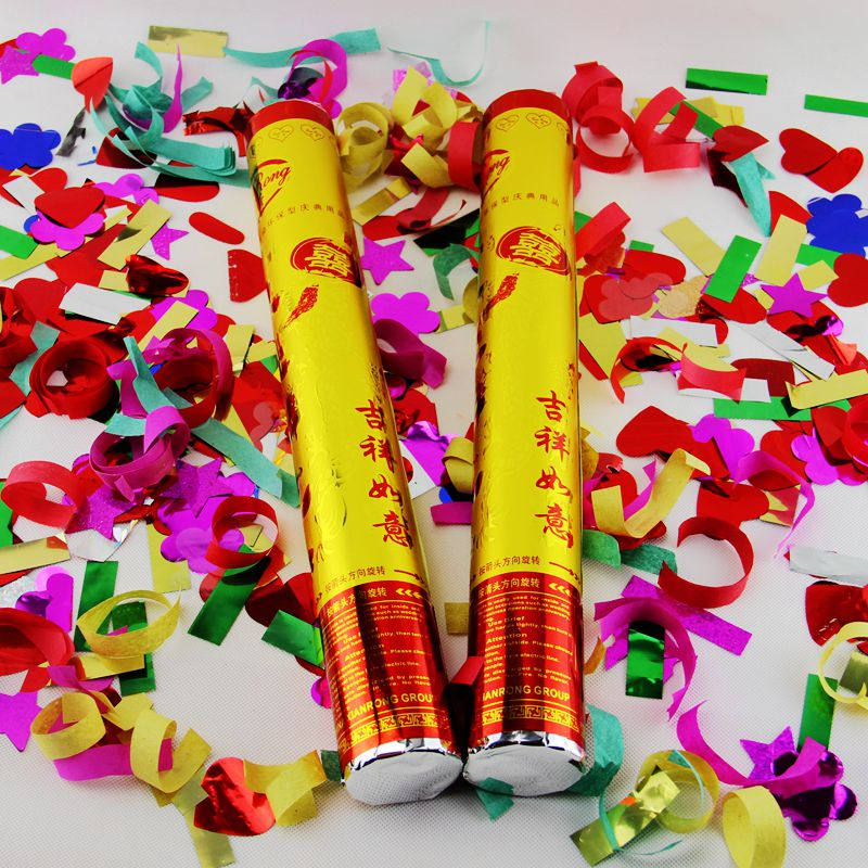 Qin lei] [wedding fireworks wedding fireworks celebration party confetti gun salute christmas and new year wedding supplies