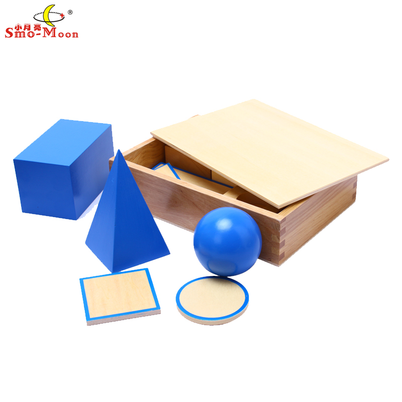 Mathematics teaching aids mongolia and taiwan soe lee kindergarten early childhood special sensory toys dimensional geometric model aids