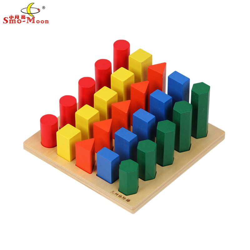 Mathematics teaching aids mongolia and taiwan soe lee kindergarten children's educational toys geometry ladder
