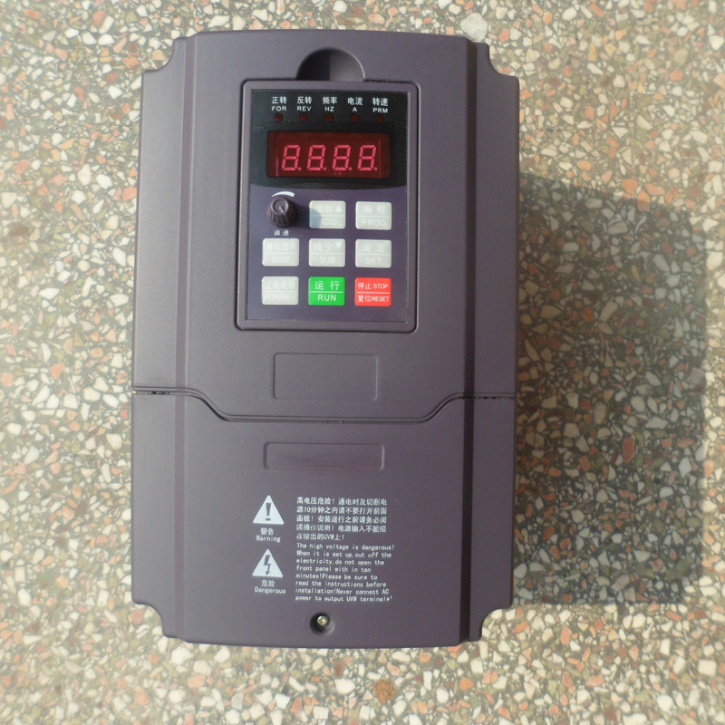 Photosynthetic high performance general purpose inverter 2.2kw220v inverter section v input output can governor