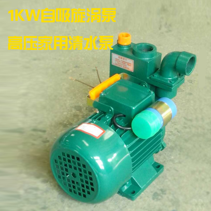 Photosynthetic 1kw priming vortex pump high pressure vortex home priming pump water pump water pump agricultural pump water pump