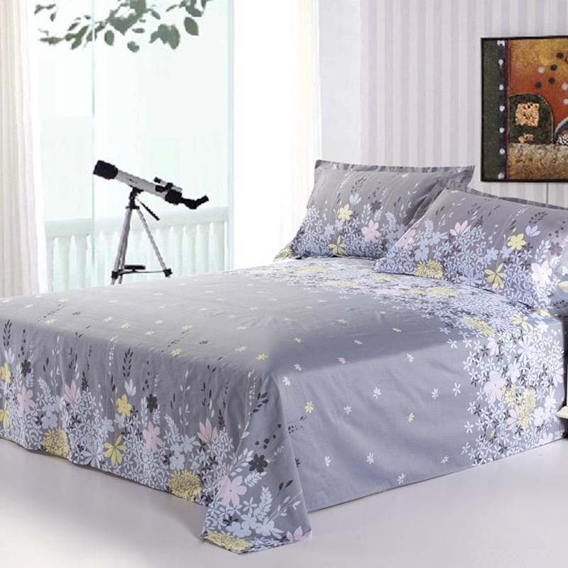 Originated from amoy textile cotton sheets rosemary textile cotton linens single student single or double size