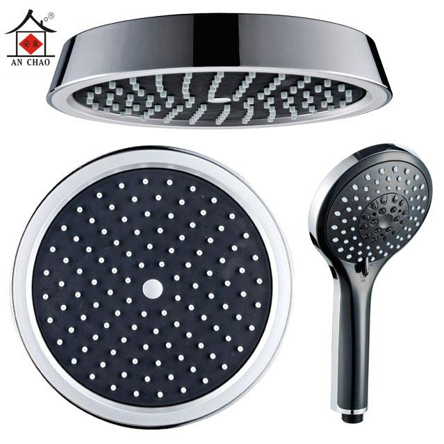 An nest round top spray shower suite shower flower handheld shower hand shower single head shower accessories