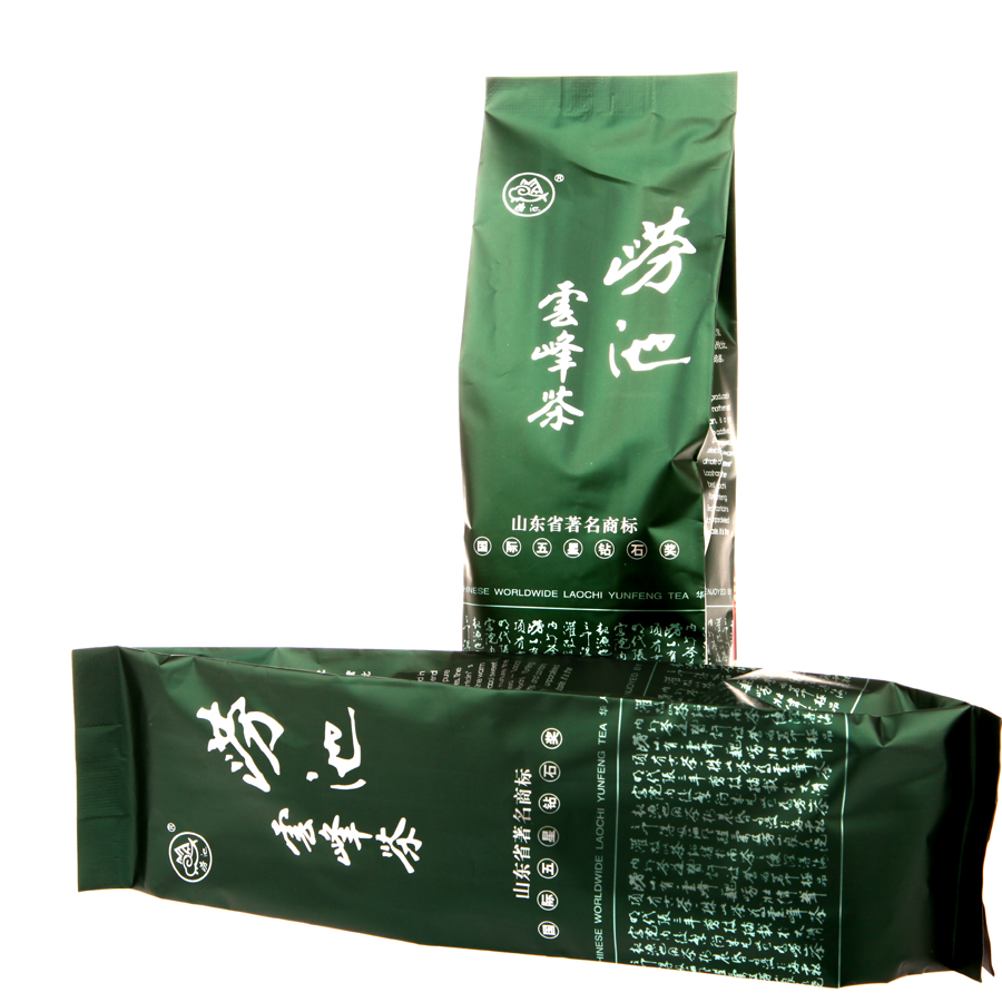 Laois pool yunfeng 800; stannum bags paperback laoshan green tea 2016 tea tea roasted green island specialty promotions
