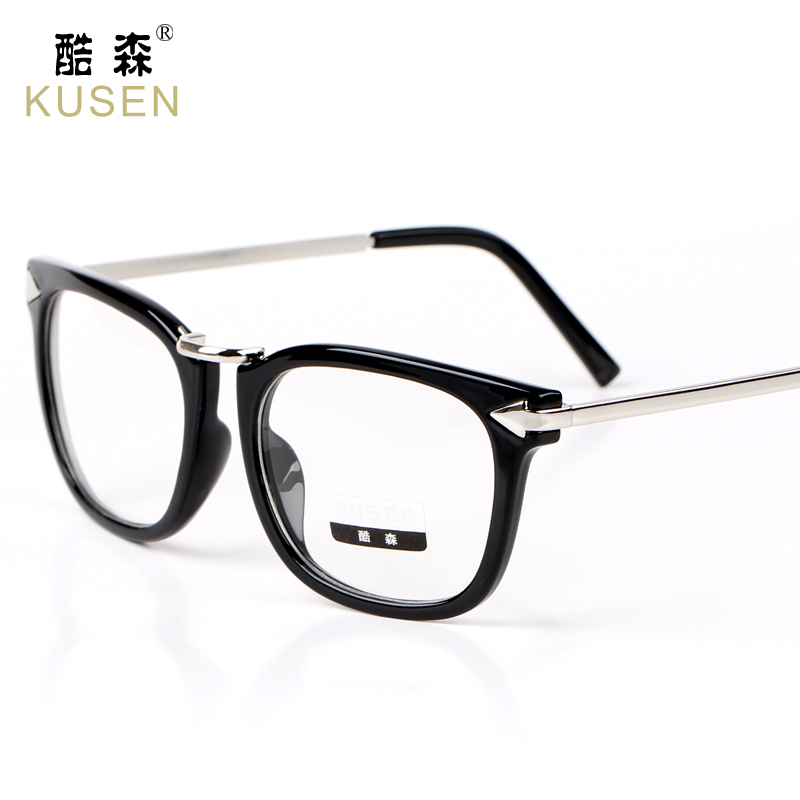 Cupid arrow big box retro glasses frame glasses rimmed glasses frame female fashion models tide male eye glasses frame can be equipped with myopia