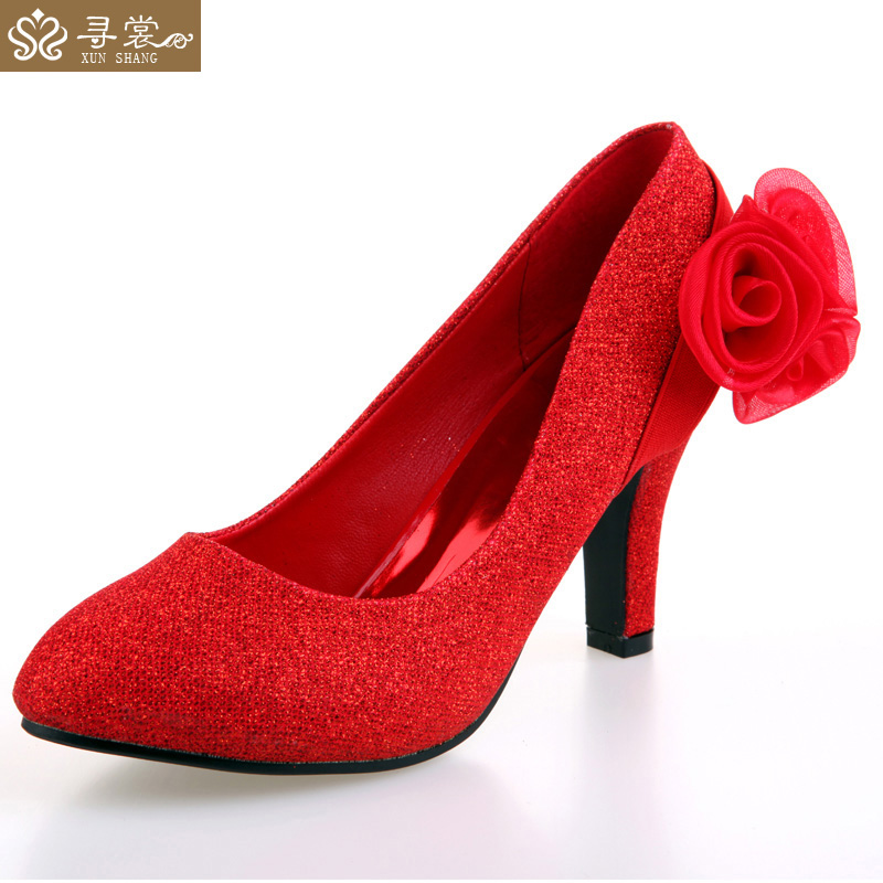 Autumn wedding shoes red wedding shoes red high heels wedding shoes wedding flowers wedding flowers bride essential 06