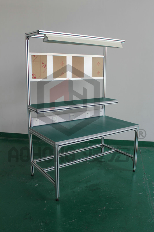Aluminum alloy double bench test bench test bench testing station antistatic antistatic aluminum alloy