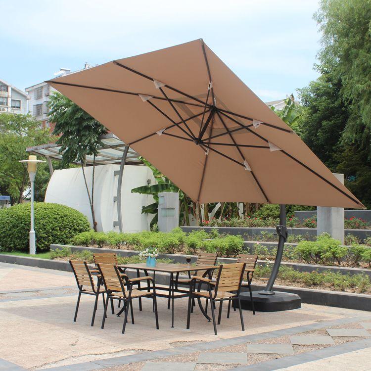 Get Quotations · Outdoor Garden Cafe Umbrellas Large Umbrella Parasol  Umbrella Advertising Umbrella Beach Umbrella Leisure Terrace Patio Umbrella