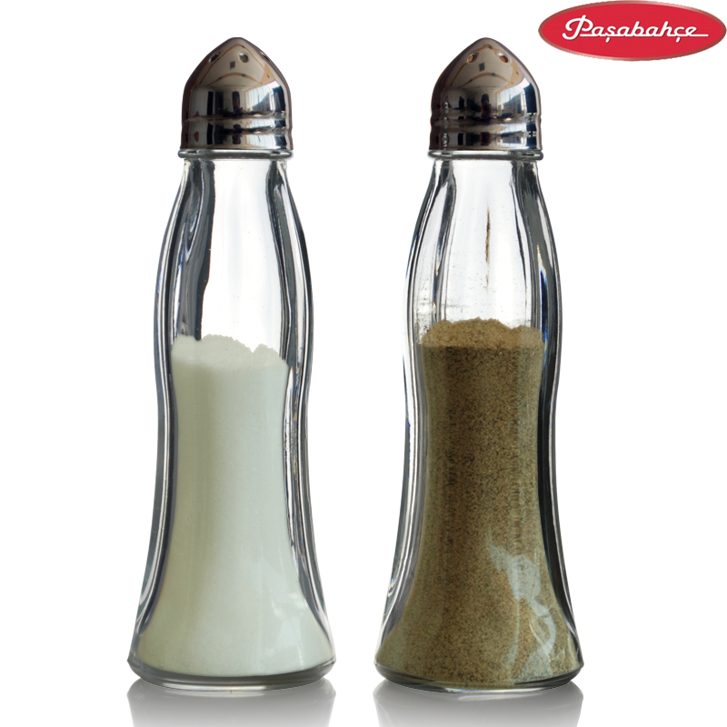 Imported glass seasoning condiment bottles kitchen supplies seasoning box condiment jar sealed cans condiment bottles gift set