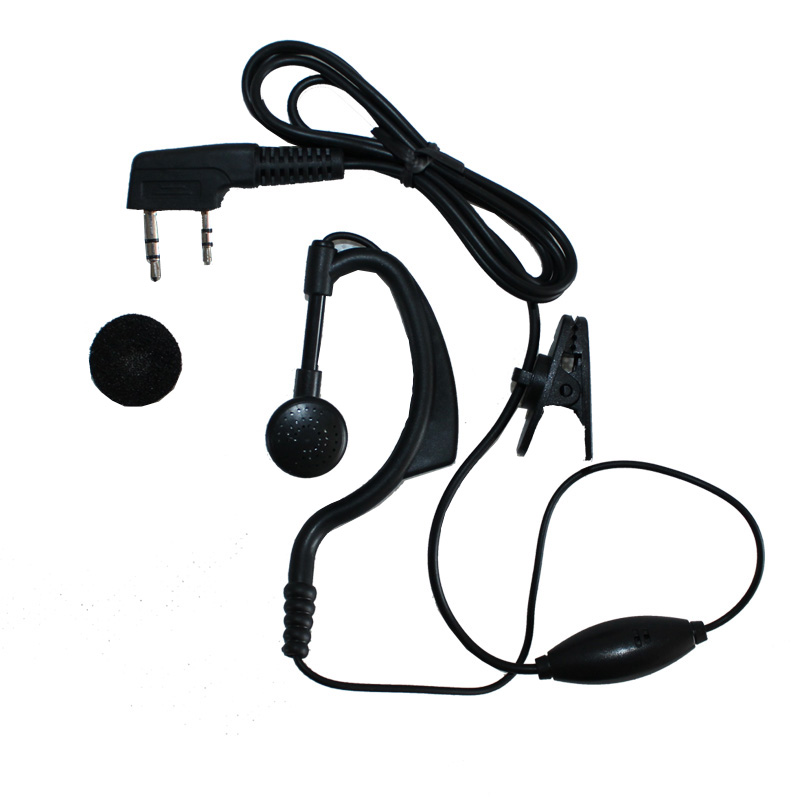Walkie talkie earphone headset k head dragon wing y1 headphones (ear hook) headset earplugs before making remarks models