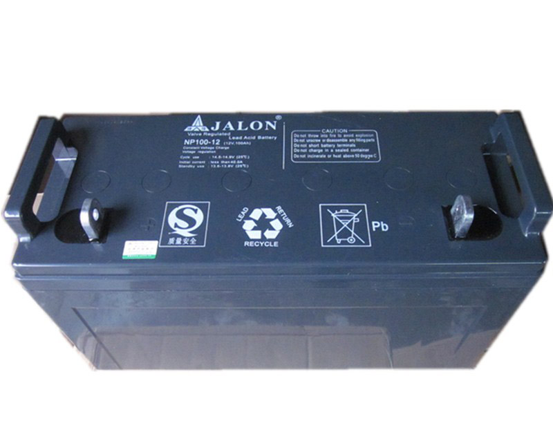 Jalon maintenance-free battery lead acid batteries 12v100ah np100-12 ups power supply batteries for