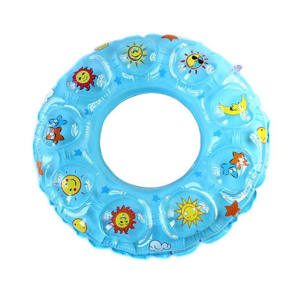 Figure gifted sports swim ring double crystal swimming laps swimming equipment swimming laps 60- 90CM universal adult children