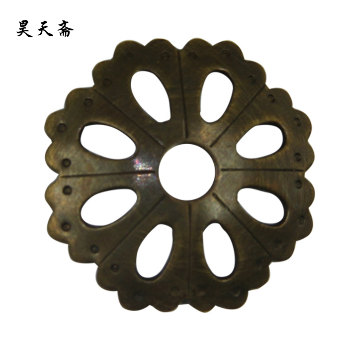 [Haotian vegetarian] antique copper gasket/antique hardware antique copper ring/copper gasket HTI-045
