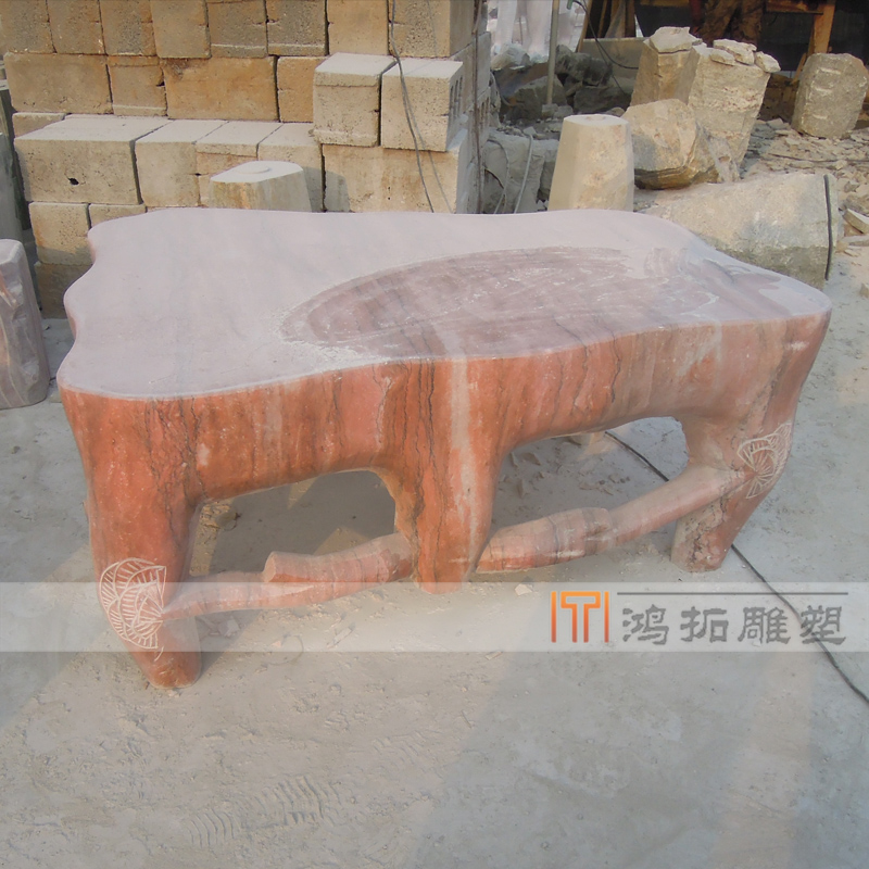 [Sculpture]鸿æST014J specializing in the production of a variety of customized marble stone table stone table stone table stone table stone carving