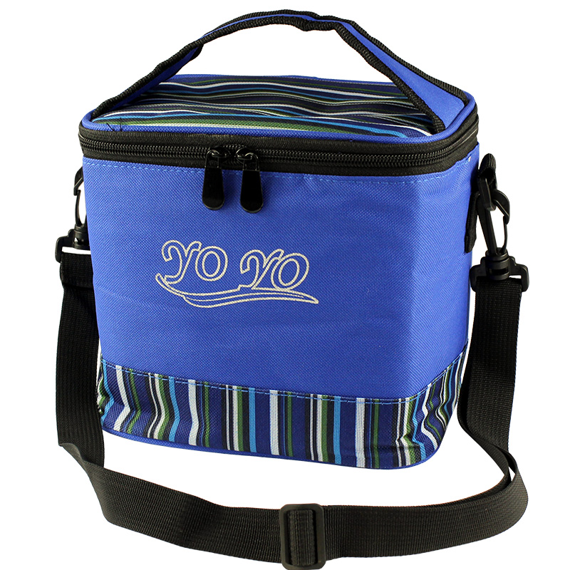 Small square storage bag with thicker insulation bag lunch bag lunch bag cooler bag lunch bag waterproof bag