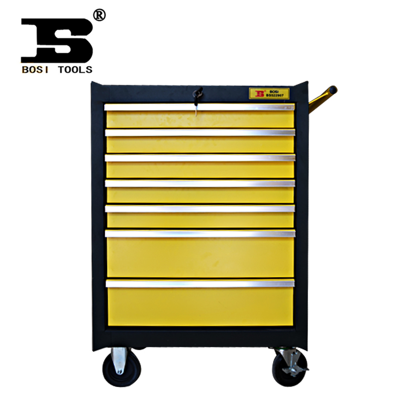 Persian seven drawer tool cart trolley aftermarket car drawer tool box metal box to move to pull a cart load 500 kg