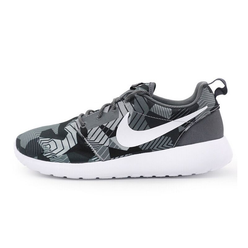 newest 445c3 59a43 Get Quotations · 16 summer men's nike nike roshe one print dark camouflage  sneakers running shoes 655206