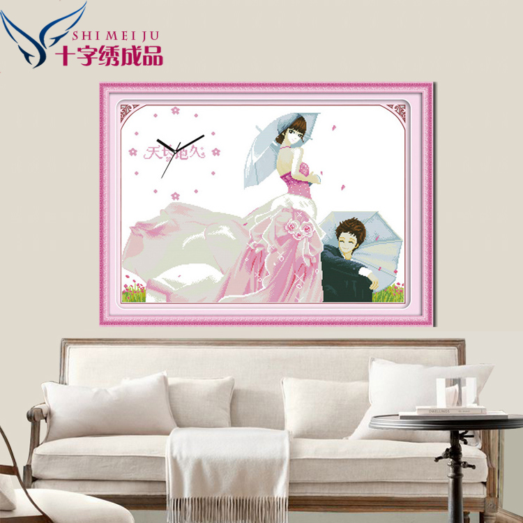 Mercure decorative stitch finished sharply freeze happy wedding series of new living room stock sale