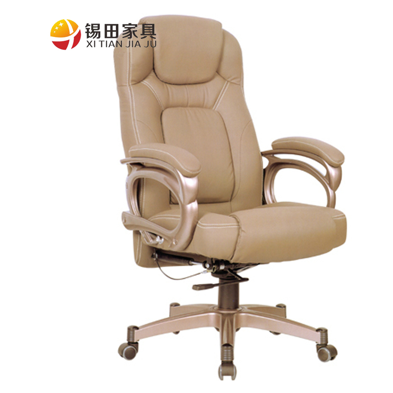 Tin tin furniture korea leather office chair lift swivel chair manager chair computer chair can be customized boss chair specials