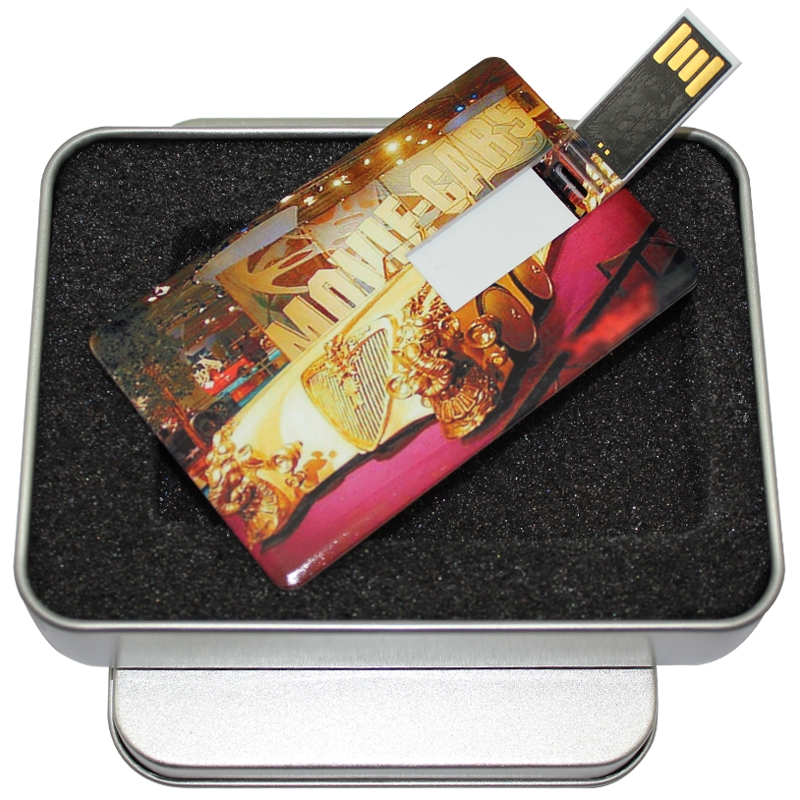 Card u disk creative usb logo customized corporate gifts personalized custom color photo card