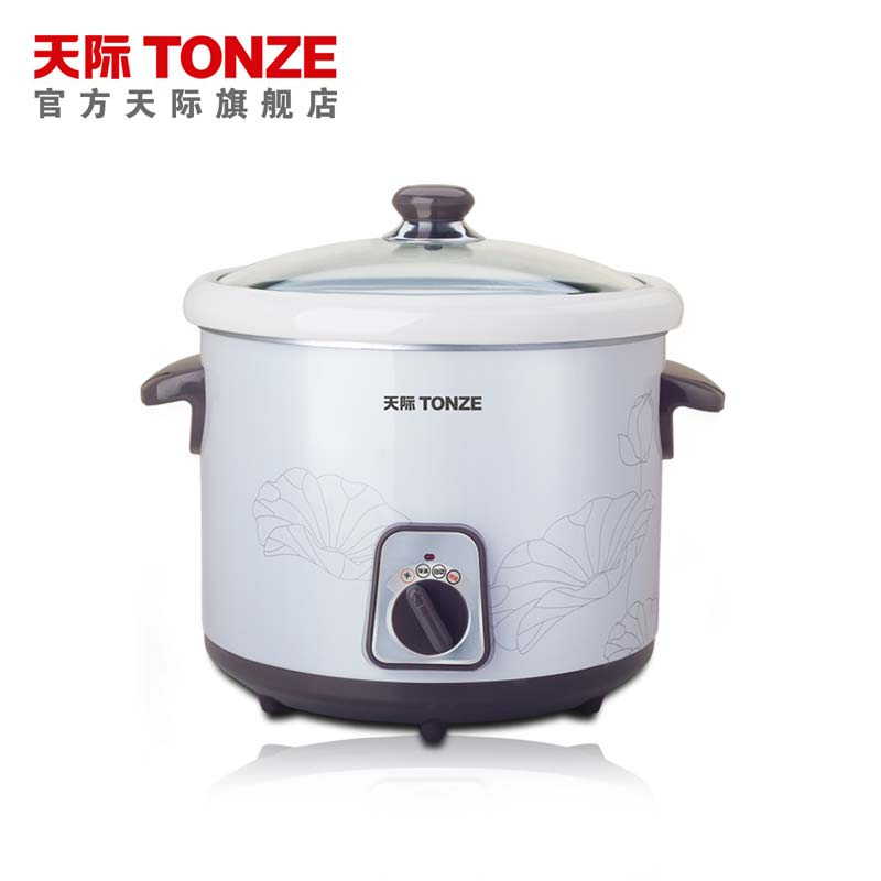 Tonze/skyline DDG-W310N skyline electric cookers porcelain mini baby bb pot baby porridge soup 1l