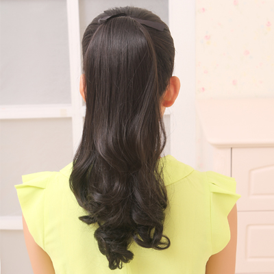 Europe and the united states xuan pear volume ponytail wig fake ponytail ponytail volume ponytail tied ponytail style sweet and lovely