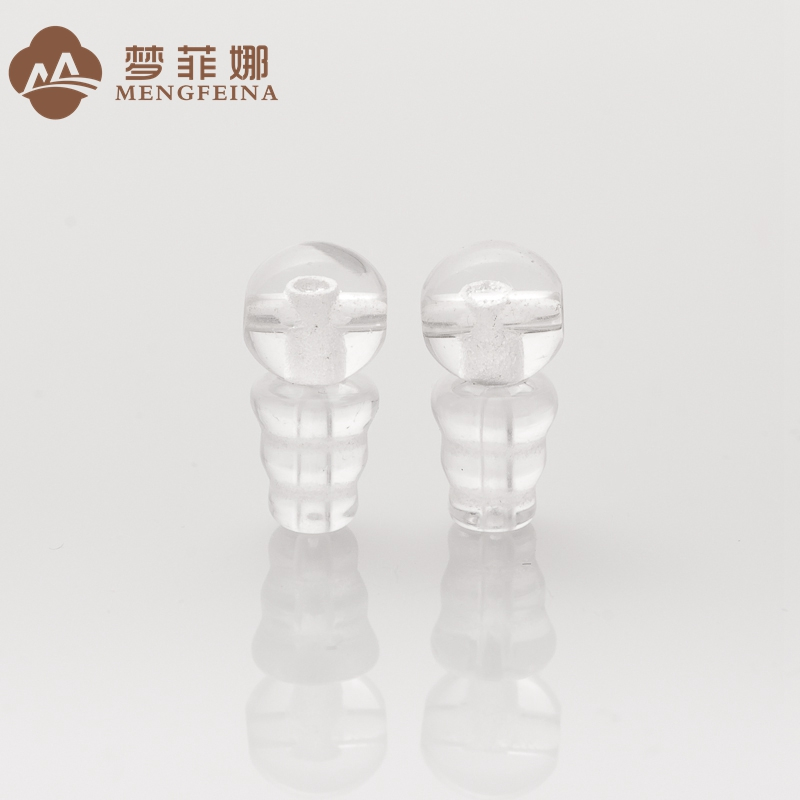 Dream fina 8/10/12mm natural white crystal buddha head tee diy accessories beads bracelet accessories