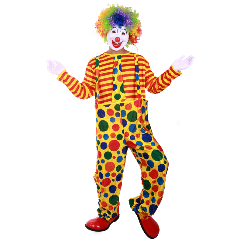 Get Quotations · Halloween adult clown costume dress clothes clown clown clown costume suit sleeve dress rims clown costumes  sc 1 st  Shopping Guide - Alibaba & China Professional Clown Costumes China Professional Clown Costumes ...